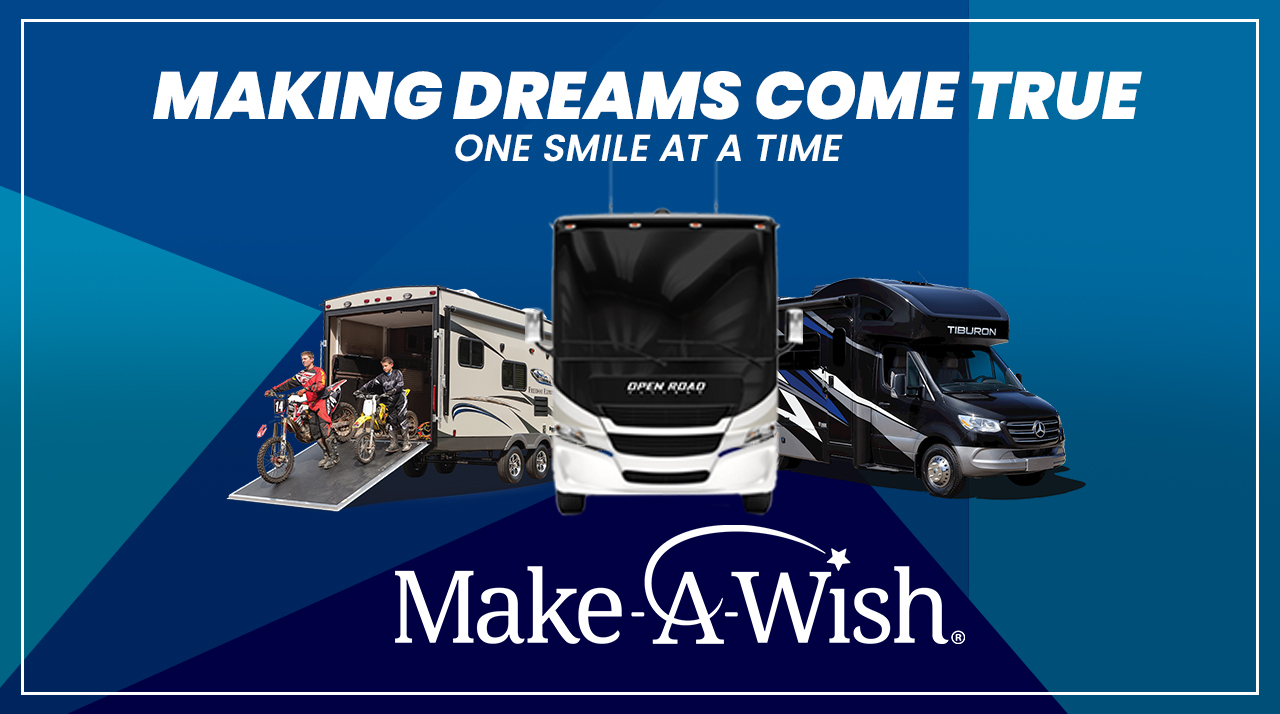 Preview Image for Giant Recreation World Grants Camping Wishes to Florida Make-A-Wish Children