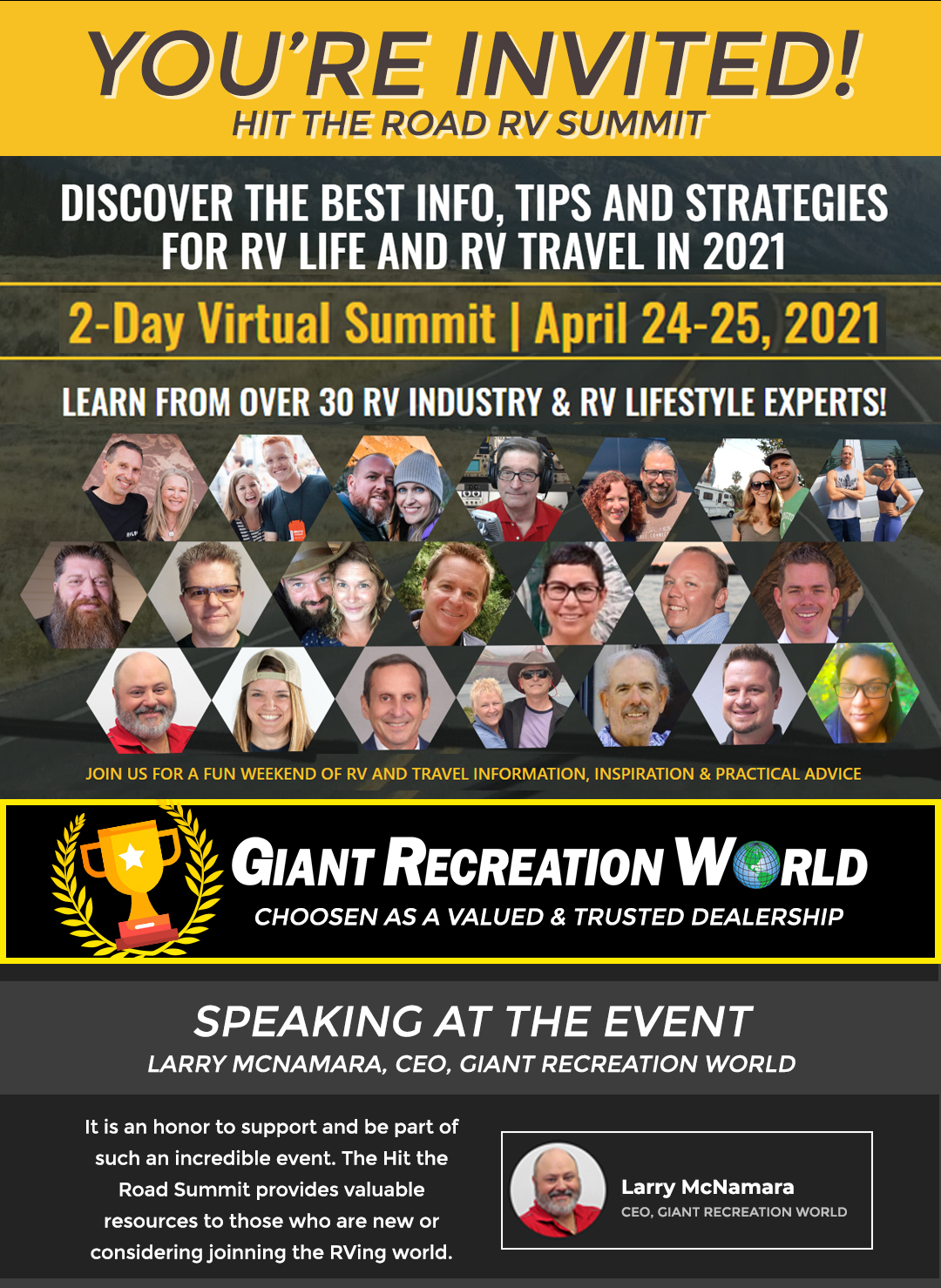 Preview Image for Hit the Road RV Summit
